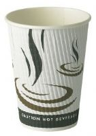 12oz Weave Ripple Wall Hot Drink Cup